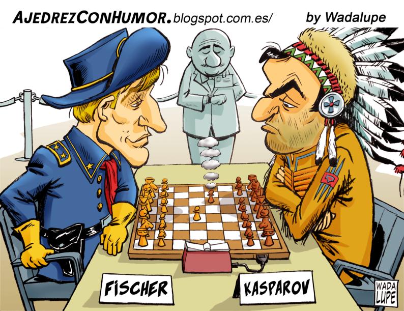 Fischer gegen Kasparov